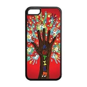 Funny Creative Design Autism Silicon iPhone 5C Case, Snap on Protective Autism iPhone 5C Case
