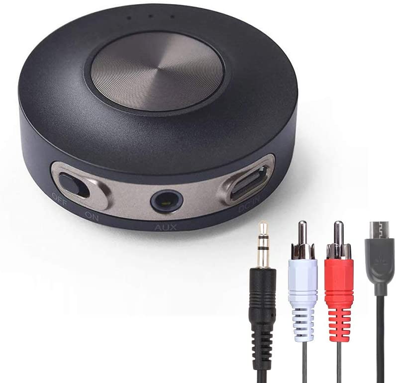 Avantree Priva III aptX Low Latency Transmisor Bluetooth 4.2 para TV, PC (Soporta AUX, RCA, PC USB, Not Optical), Conexión Dual Adaptador Inalámbrico de Audio para Auriculares