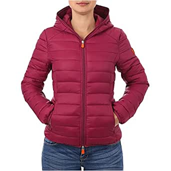 Save The Duck Women's Hoodied Jackets (Cyclamine,XXXL)
