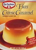 Dr Oetker Flan Creme Caramel Dessert, 3.7-Ounce (Pack of 6)