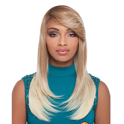 - Janet Collection Synthetic Wig - Perm Zinnia-1B