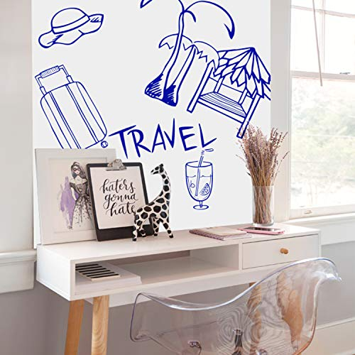 """Prefer Green Self-Adhesive Whiteboard Wall Decal Sticker, 78.7"""" × 17.5"""" Extra Large Strong & Durable Dry Erase Wall Paper Message Board for Kids, Office, School & Home with 1PCS Marker Pen (White) Photo #6"""