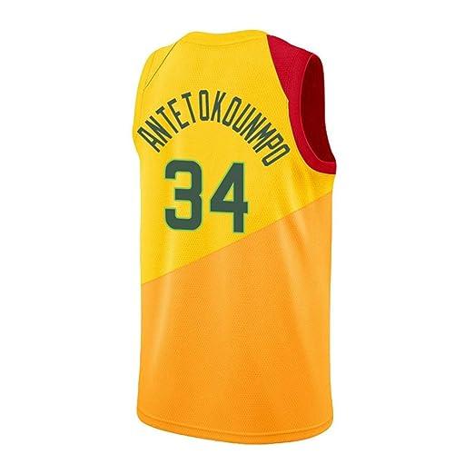 HS-XP # 34 Ropa de Baloncesto Camisas para Hombres Equipo de ...