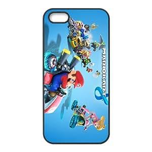 iPhone 5 5s Cell Phone Case Black Mario Kart 8 Ncoyg