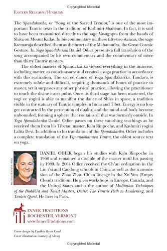 Yoga Spandakarika: The Sacred Texts at the Origins of Tantra ...