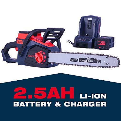 Worth 18-Inch Battery Chainsaw