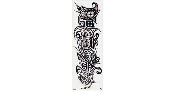 7pcs Pieza tatuaje Boho floral metálico del tatuaje patrón de ...