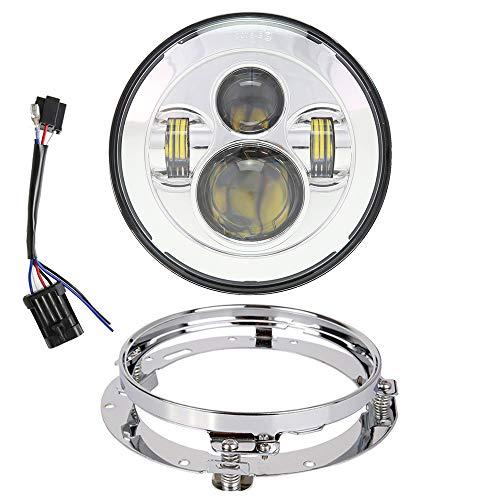 7 inch LED Headlight DOT Bulb Set Kit Light Headlamp for sale  Delivered anywhere in USA