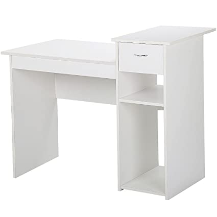 Amazoncom Yaheetech Small Computer Desk Study Writing Table With