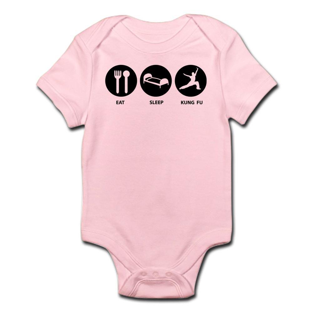 CafePress - Eat Sleep Kung Fu - Cute Infant Bodysuit Baby Romper