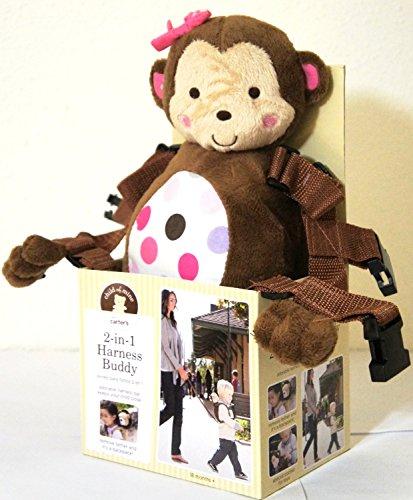 child of mine 2 in 1 Harness Buddy Monkey PINK EDITION (Child Of Mine 2 In 1 Harness Buddy)