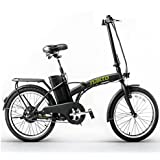 """Nakto 20"""" 250W Foldaway Electric Bike Sport Mountain Bicycle with Lithium Battery"""