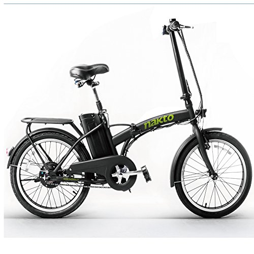 """Price comparison product image Nakto 20"""" 250W Foldaway Electric Bike Sport Mountain Bicycle with Lithium Battery"""