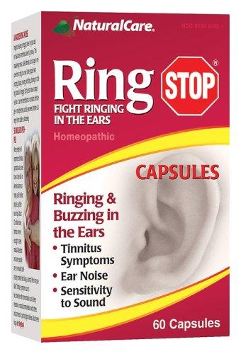 RingStop NaturalCare de sonnerie et / ou bourdonnement dans les oreilles, Capsules, 60-Count Bottle