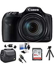 $399 » Canon PowerShot SX540 HS Wi-Fi Digital Camera with 64GB Card + Case + HDMI Cable + Tripod + Kit