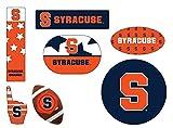 Syracuse Orange 6 Piece Tailgate Magnet Set and Mascot Magnet