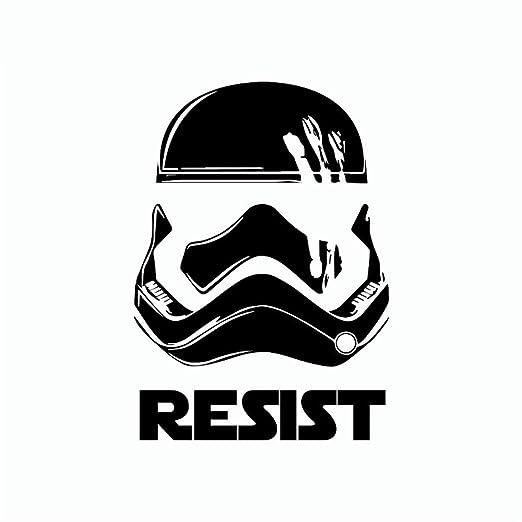 Star Wars Etiqueta de la pared Fuerza Despertar Finn Resistir ...