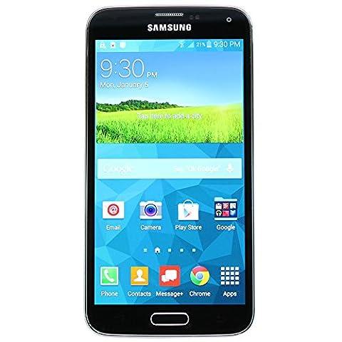 Samsung SM-G900V - Galaxy S5 - 16GB Android Smartphone Verizon + Unlocked GSM - Black (Certified (Verizon Camera Phones)