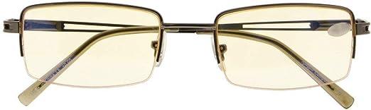 Blue Light Filter Glasses for Computer Screen Reading Women Men Half-rim Reader [並行輸入品]