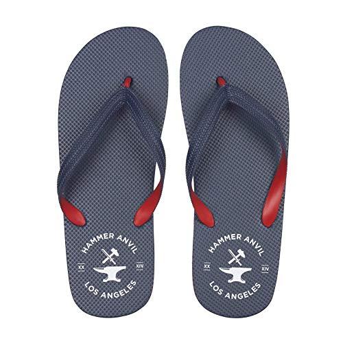 Hammer Anvil Men's Flip-Flops Summer Sandals Navy US 10