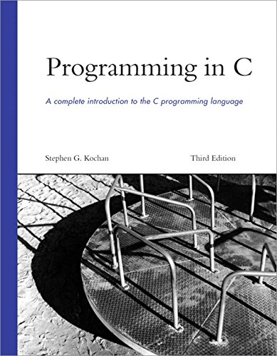Programming in C (3rd Edition) by Sams Publishing