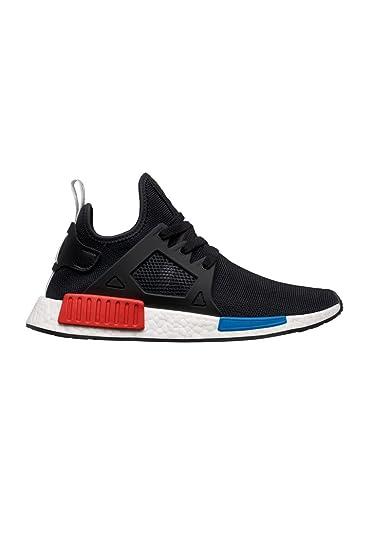 adidas NMD XR1 Prime Knit OG BY1909 Black/White/ red/Blue (11.5
