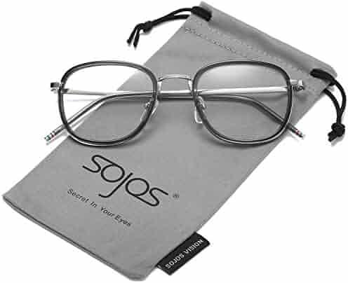 fc3671c1329 SojoS Round Women Eyeglasses Fashion Eyewear Optical Frame Clear Glasses  SJ5969 SJ5017 SJ6005