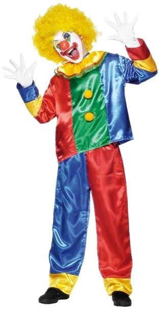 Amazon.com: Multicolor payaso disfraz para niños: Toys & Games