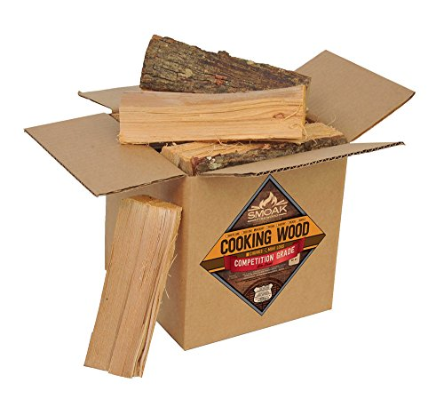 (Smoak Firewood Cooking Wood Logs - USDA Certified Kiln Dried (Hickory, 8-10 lbs))