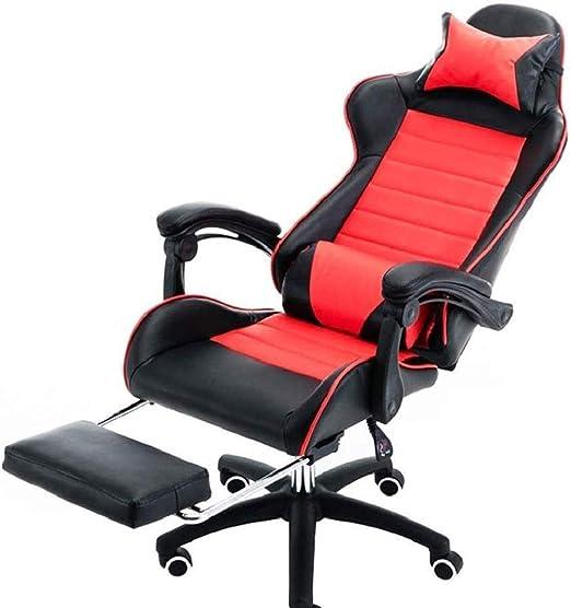EAHKGmh Silla de Oficina, Ordenador PC Gaming Chair Desk Silla de ...