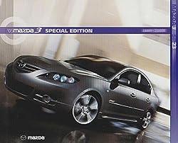 "Mazda 3 2005 Full Color Sales Dealership Brochure, 8"" X 10"""