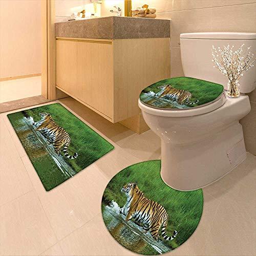 Tigers Bath Rug, LSU Tigers Bath Rug, Tigers Bath Rugs