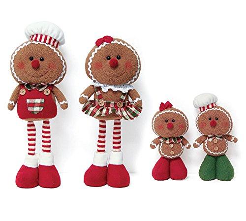 Burton & Burton Gingerbread Family Plush Décor ()
