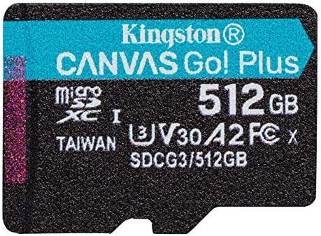 Professional Kingston 512GB for Samsung SM-A915F MicroSDXC Card Custom Verified by SanFlash. 80MBs Works with Kingston