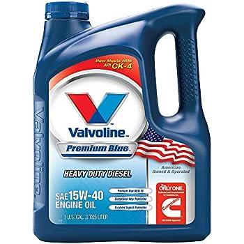 Amazon Com Valvoline 15w 40 Premium Blue Diesel Engine