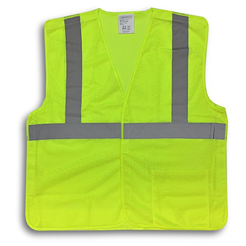 JORESTECH Safety Vest 5-Point Breakway ANSI/ISEA 107-2015, Class 2 Type R (2XL/3XL)