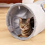 Speedy Pet Collapsible Cat Tunnel, Cat Toys Play