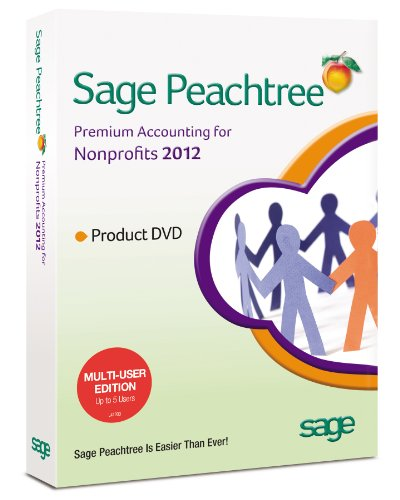 Sage Peachtree Accounting for NonProfits 2012 MU [Old Version]
