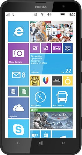 Nokia Lumia 1320 8GB RM-994 (GSM Only, No CDMA) Factory Unlocked 4G LTE Cell Phone (Black) – International Version