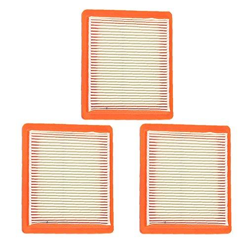 Harbot (Pack of 3 14 083 15-S 14 083 16-S Air Filter for Kohler XT650 XT675 Engine Lawn Mower (Air Engine Filter Kohler)