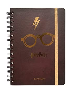 Agenda escolar 2019/2020 A5 12 meses Semana Vista Harry Potter