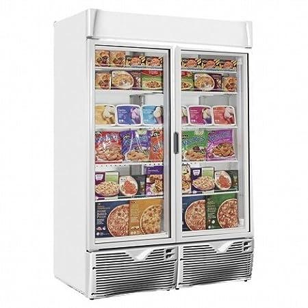 framec expo1100nv Eco puerta de cristal Vitrina Congelador Frozen ...