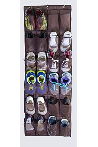 Max Costume Tutorial (Osierl Hanging Over the Door Shoe Storage Bag Mesh Organizer with 24 Pockets)
