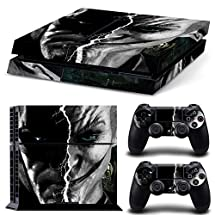 Adventure Games - PS4 ORIGINAL - Batman and Joker - Playstation 4 Vinyl Console Skin Decal Sticker + 2 Controller Skins Set