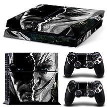 Adventure Games - PS4 ORIGINAL - Batman and Joker - Playstation 4 Vinyl Console Skin Decal Sticker + 2 Controller Skins Set