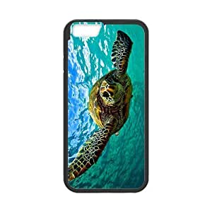 diy zhengCartoon Turtles Snap on Case Cover for Personalized Case for iphone 5c (Laser Technology) Case Screen iPhone -04