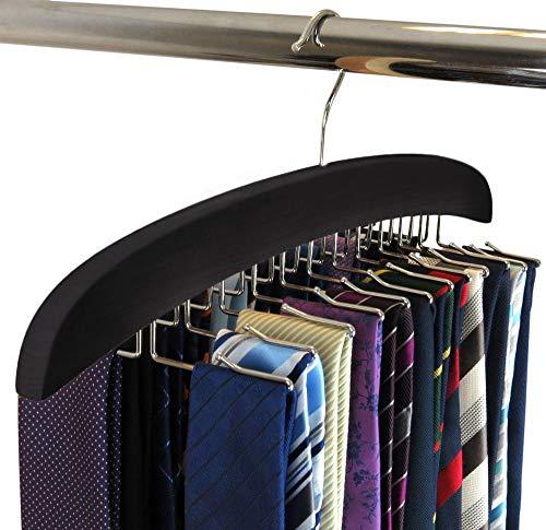 Suntrade Wooden Tie Hanger24