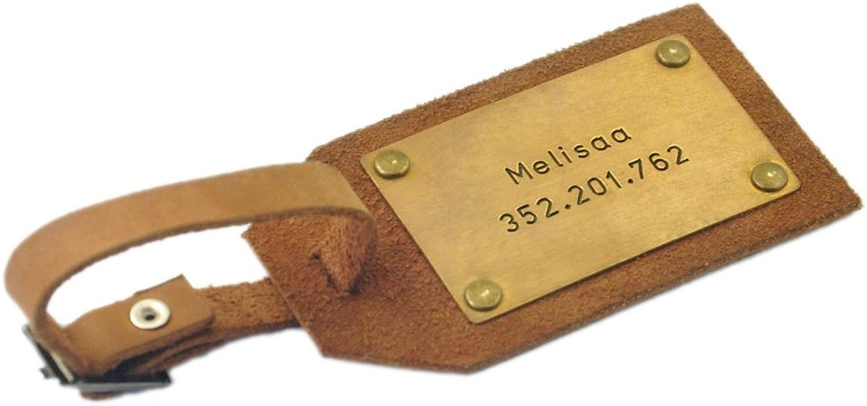 3c7a7478d20d Custom Leather Luggage Tag, Personalized Leather Luggage Tag Mens Gift  Husband Gift