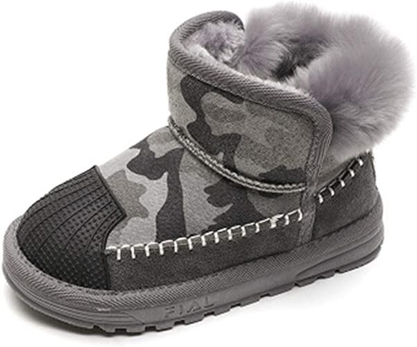 SUNNY Store Snow Boots Winter Pull On Ankle Booties Shoes