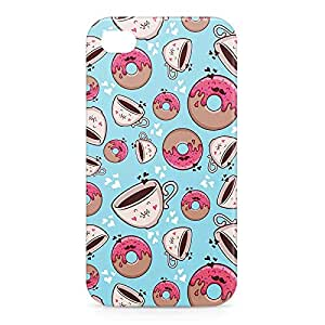Donuts and Coffee iPhone 4s 3D wrap around Case - Design 3